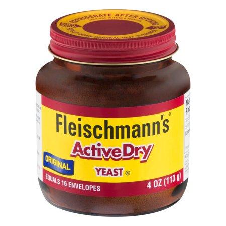 Fleischmann's Active Dry Yeast, 4 oz