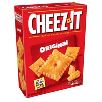 (2 Pack) Cheez-It Baked Snack Crackers Original 12.4 Oz