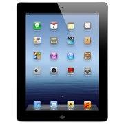 """Refurbished Apple iPad 3 9.7"""" 16GB WiFi Tablet Dual Core A5X Processor 1GB Camera - Black"""