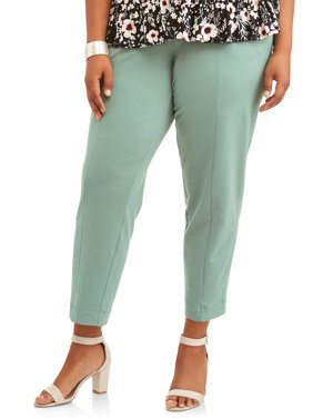 Women's Plus Tapered Knit Pant