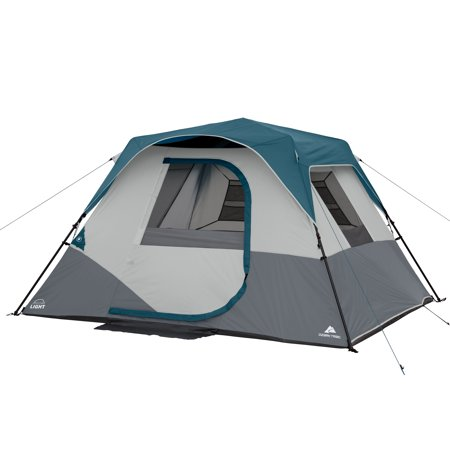 Backcountry Tent (Ozark Trail 6-Person Instant Cabin Tent with LED Light )