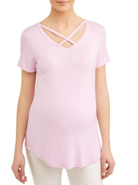 Maternity Criss Cross Tee