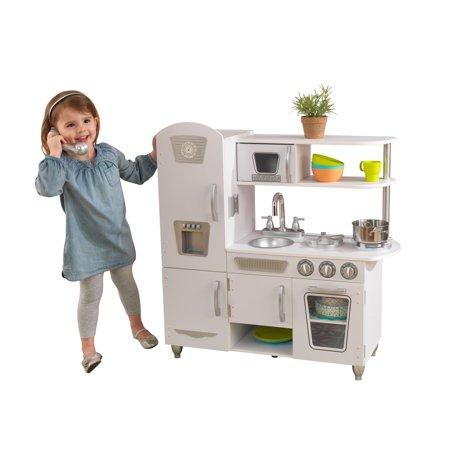 Kidkraft Vintage Play Kitchen White Kidkraft Kitchen Walmart Com