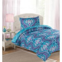 Your Zone Arabesque Floral Comforter Set