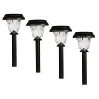 Mainstays 4-Pk Solar Pathway Light Set