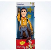 Disney Parks Pixar Toy Story Talking Woody Figure New with Box b4f0d5c65ce