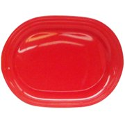 "Mainstays Summer Liberty 16"" Serving Platter, Red"