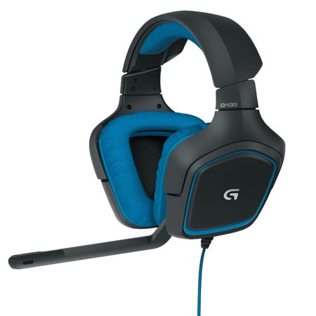 Logitech G430 Headset: X and Dolby 7.1 Surround Sound Gaming Headset