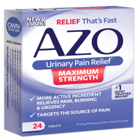 Azo Max Urinary Pain Relief Tablets, 24ct
