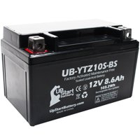 Replacement 2004 Honda CBR1000RR 1000CC Factory Activated, Maintenance Free, Motorcycle Battery - 12V, 8.6Ah, UB-YTZ10S-BS