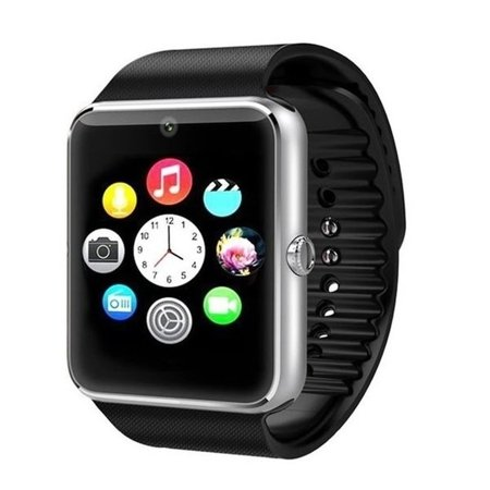 Premium Silver Bluetooth Smart Wrist Watch Phone mate for Android Touch Screen Blue Tooth Smart Watch with Camera for Adults for Kids (Supports [does not include] SIM+MEMORY CARD) Amazingforless GT08](Kids Witch)