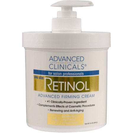 Firming Concentrate Body (Advanced Clinicals Retinol Firming Cream, 16 Oz )