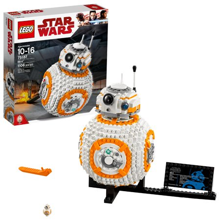 LEGO Star Wars TM BB-8 75187 Building Set (1,106 Pieces)