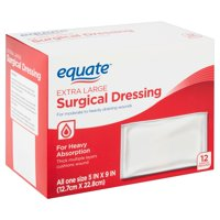 Equate Extra Large Surgical Dressing, 12 count