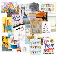 Mega Birthday Cards Value Pack - Set of 40 (20 designs)