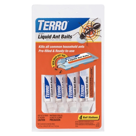 Terro Liquid Ant Baits, 0.36 oz, 4 ct (Ant Killer Indoors)