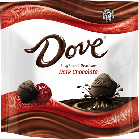 DOVE PROMISES Dark Chocolate Candy Bag, 8.46 Ounce