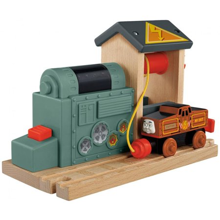 Thomas & Friends Wooden Railway Battery Charging (Thomas And Friends Wooden Railway Cranky The Crane)