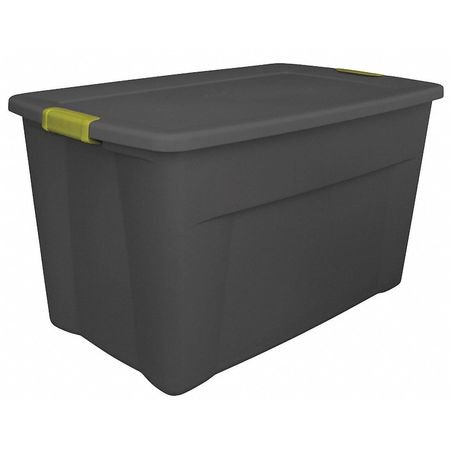 Stack Tote Lids - NEW Sterilite 19451006 35 Gallon Storage Tote Box W/Latching Container Lid