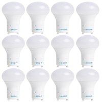 Viribright 60 Watt Replacement LED Light Bulbs (12 Pack), 6500K, Daylight, 800+ Lumens, GU24, 90+ CRI
