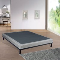 "WAYTON, 4-Inch Fully Assembled Long Lasting Box Spring/Foundation for Mattress, Twin Size 74"" x 38"""