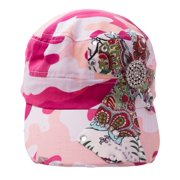 793b28fdd502c1 Kallina Women's Cross Sigil Military Style Cadet Hat, One-Size 7