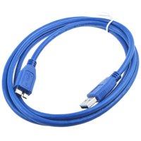 ABLEGRID USB Cable Laptop PC Data Sync Cord Lead For Clickfree R2037N3-1004-100 C2N 2TB USB 3.0 Black Network Desktop Portable External Hard Disk Drive HDD HD
