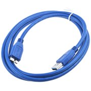 ABLEGRID Sync USB 3.0 A to Micro B Cable Cord Lead For Seagate Goflex External Hard