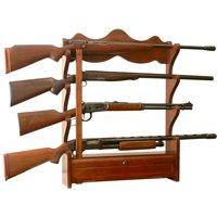 4 Gun Wall Rack