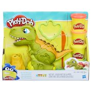 Play-Doh Rex the Chomper Dinosaur with 4 Cans of Dough