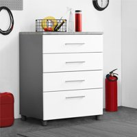 SystemBuild Latitude 4 Drawer Base Cabinet, Multiple Colors
