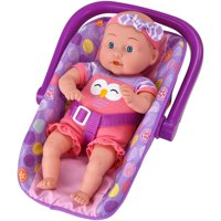 """My Sweet Love 13"""" Soft-Body Baby Doll with Carrier, Pink Owl Outfit"""