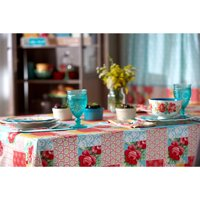"The Pioneer Woman Patchwork Tablecloth, 60""W x 84""L , Multiple Sizes"