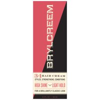 Brylcreem High Shine 3n1 Hair Cream for Men that Styles, Strengthens and Conditions Hair, 5.5 Fluid Ounce