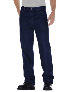 Men's Relaxed Straight Fit 5-Pocket Denim Jean