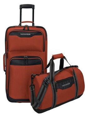 Hillstar 2-Piece Casual Luggage Set