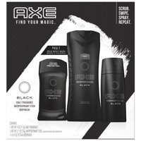AXE Regimen Gift Set for Men Black 3 pc