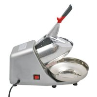 ZENY 300w Ice Shaver Machine Ice Crusher Electric Snow Cone Maker Stainless Steel Shaving Ice 143lbs Per Hour