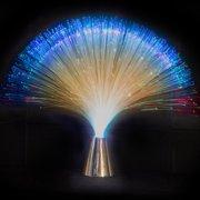 Fiber Optic Light Centerpiece 15 Inch Multi Color