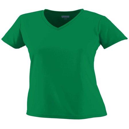 5282 Green (Augusta Sportswear T-Shirts Girls' Wicking T-Shirt 1791 )