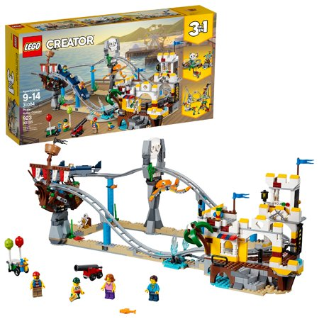 LEGO Creator 3in1 Pirate Roller Coaster 31084 (923 Pieces)