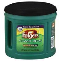 Folgers Classic Decaf Ground Coffee, Medium Roast, 30.5-Ounce
