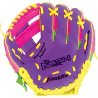 """Franklin Sports 9.5"""" Teeball Meshtek Glove, Right Handed Thrower"""
