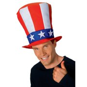 948136074d6a Uncle Sam Adult Stovepipe Hat Halloween Costume Accessory