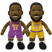 4f4ff0e3deb2 Bleacher Creatures NBA Los Angeles Lakers Lebron James Association and Icon  Uniform Bundle Pack.