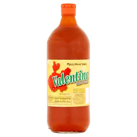 (5 Pack) Valentina Mexican Hot Sauce, 34 fl oz