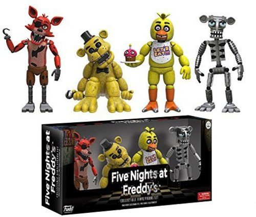 Funko Five Nights at Freddy's 4 Figure Pack (1 Set), 2