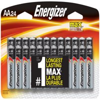 Energizer MAX Alkaline AA Batteries, 24 Pack