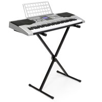 Best Choice Products Electronic Piano Keyboard 61 Key Music Key Board Piano With X Stand Heavy Duty