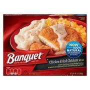 Banquet Classic Chicken Fried Chicken Frozen Single Serve Meal 10.1 Ounce